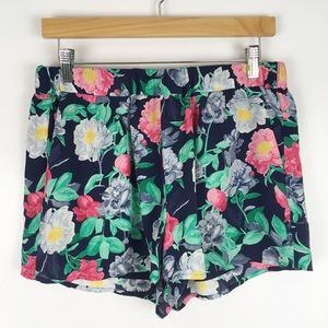 joie | silk floral comfy shorts 0752